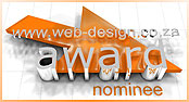 Web Design Award Nominee